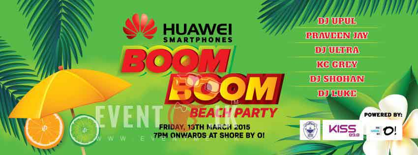 boom boom party events in sri lanka